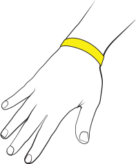 Smartsun armband med sensorer